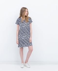 Image 1 of JACQUARD DRESS from Zara
