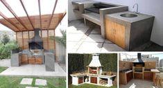 30 de modele economice de gratare de curte - Le veti putea construi chiar si singuri Conception, Portal, Outdoor Decor, Dining Rooms, Home Decor, Gardens, Houses, Patio Ideas, Grilling