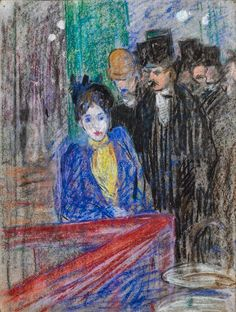 """At Court, Louis Valtat Louis Valtat (French 8 August 1869 – 2 January was a French painter and printmaker associated with the Fauves (""""the wild beasts"""", so named for their wild use of color), Henri Matisse, Renoir, Auguste Herbin, Maurice Utrillo, André Derain, Art Nouveau, Modern Art, Contemporary Art, Grafik Art"""