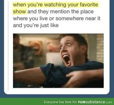 Actually happened to me while watching Supernatural, but they were closing the gate to Hell so...
