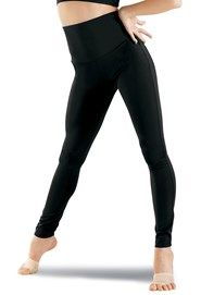 Nylon High-Waist Leggings - cell block tango