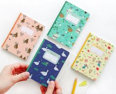 Mini Notebook / Handy Notebook / Journal Notebook / Travel Notebook / 101692916 by DubuDumo on Etsy