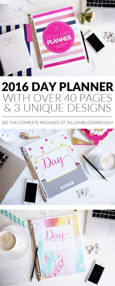2016 Day Planners fr