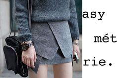 Choies Pencil Skirt In Dark Gray Daily Fashion, Love Fashion, Girl Fashion, Origami Skirt, Shorts, Pretty Outfits, Pretty Clothes, Autumn Winter Fashion, Fall Winter