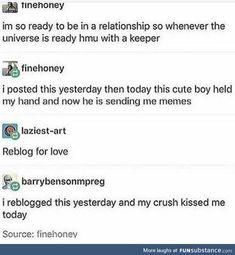 """Sending me memes"" that's love Tumblr Stuff, My Tumblr, Tumblr Posts, Tumblr Funny, Funny Memes, Hilarious, Dankest Memes, Haha, Thing 1"