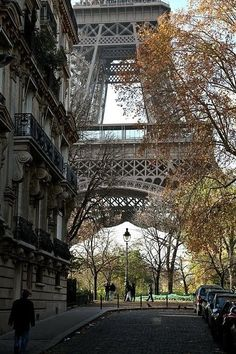 Paris. A different perspective on Eiffel Tower. by MyLittleCornerOfTheWorld