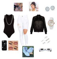 """White Timberlands"" by kura01 ❤ liked on Polyvore featuring Valentino, Getting Back To Square One, Lauren Conrad, Chanel, John Hardy, Forever 21 and Kate Spade Saturday"