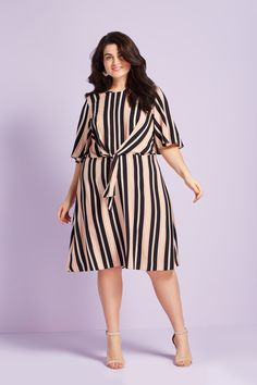 4726c51831f1 Vertical stripes are flattering and oh-so-fashionable ✓ Vertical Stripes