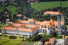 Ottobeuren (Bayern) - Abbey / Kloster / Abbaye