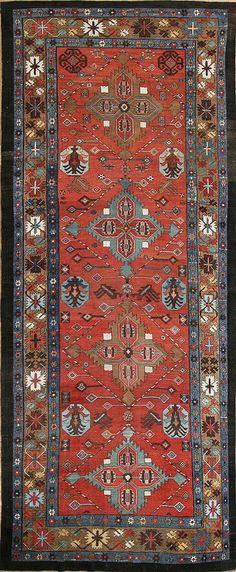 Antique Bakshaish rug, Persia, late 19th century