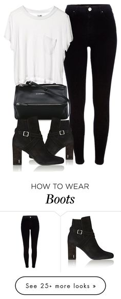 """""""Untitled #6826"""" by laurenmboot on Polyvore featuring River Island, Cheap Monday, Givenchy and Yves Saint Laurent"""