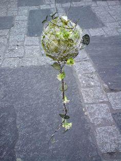 Interflora Sølvberget Blomster - Bryllup Wedding bouquet.