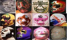 Mil Máscaras Blue Demon, Halloween Face Makeup, Fictional Characters, Room, World, Female Fighter, Legends, Warriors, Art