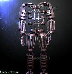 P by GoldenNexus on DeviantArt Five Nights At Freddy's, Fnaf Cosplay, Fnaf Characters, Freddy 's, Fnaf Drawings, Fnaf 1, Skull Wallpaper, Rpg Horror Games, Sister Location
