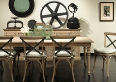 Belmount dining table and chairs natural collection.