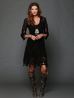 An old favorite in a new color! Mi Amore Lace Dress. http://www.freepeople.com/whats-new/mi-amore-lace-dress/