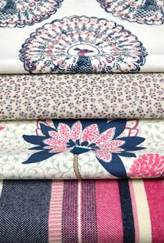 Tilton Fenwick Textiles for Duralee / The English Room Blog
