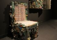 'binary collection' : recycled computer component furniture bybenjamin rollins caldwell