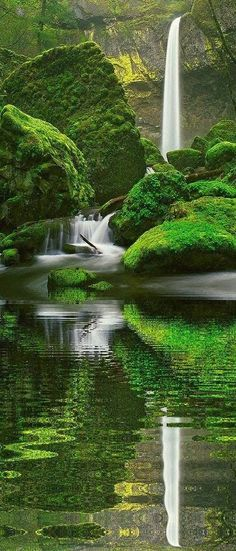 Elowah Falls, Oregon... Visit our site to see ToP 8 – Most Awesome Places on This Planet