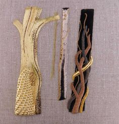Goldwork by RSN Student Helen Williams