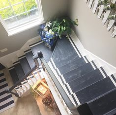 The Other Side Of Neutral | Painted Staircase