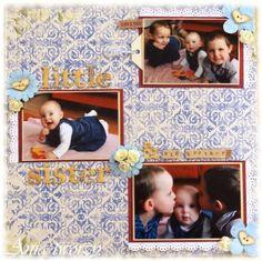 Ania tworzy: LO nr 8 - Mała siostrzyczka i duzi bracia