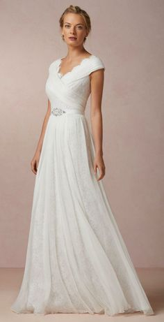 Halcyon Gown - just love the cut of this gown. Would love in darker color for evening event...maybe indigo or sapphire blue.