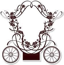 princess carriage drawing - Google Search