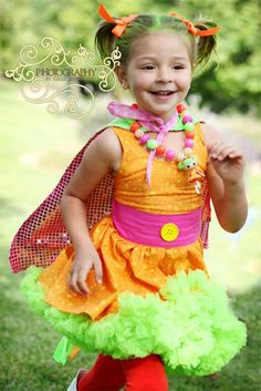 Sew...super! Dyna Mite Lalaloopsy Costume by DivasandDaredevils on Etsy