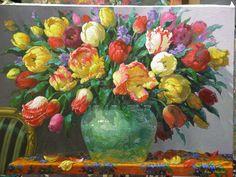 Victor Nizovtsev Victor Nizovtsev, Colorful Flowers, Flower Art, Childrens Books, Fairy Tales, Colours, Lighter, Florals, Cute