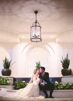 Real Wedding Inspiration: Anna+Ben in Hawaii | Finery: Carol Hannah Custom…