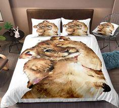 Boys Lion Bedding Set