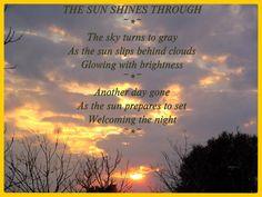 The Sun Shines Through © Copyright Ethel GG Kent