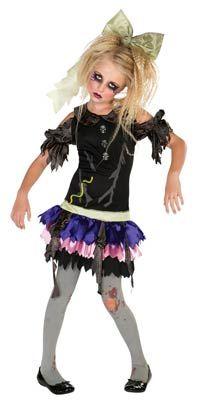Girls Zombie Costume - Zombie Costumes