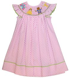 Claire & Charlie Smocked Beauty & the Beast - Children's Cottage 63