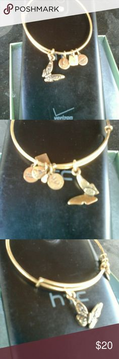 Alex & Ani Goldtone little tarnished Alex & Ani Jewelry Bracelets