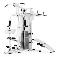 d7650e20102 Home Fitness Equipment Multi Gym Workout Station Exercise Machine Weights  Bench  Klarfit Workout Stations
