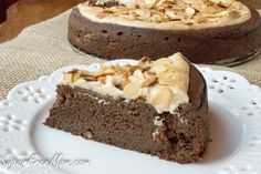 Sugar-Free Flourless Chocolate Almond Torte This Sugar Free Flourless Chocolate Almond Torte is grain free and made with just 6 ingredients!