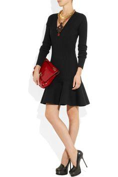 Yves Saint Laurent|Stretch wool-blend dress|NET-A-PORTER.COM