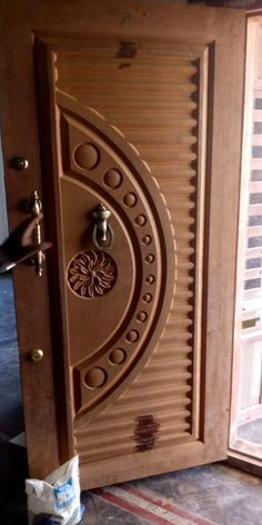 cnc wood work contact Never Go Out Of Fashion With Diamonds Article Body: Ask any woma Main Entrance Door Design, Wooden Front Door Design, Door Gate Design, Pooja Room Door Design, Door Design Interior, Single Main Door Designs, Door Design Photos, House Main Door, Modern Wooden Doors
