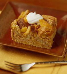 Apricot-Pumpkin Bread Pudding