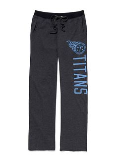 Discover what's hot now - from sleepwear and sportswear to beauty products. Tn Titans, Tennessee Titans, Titans Football, Houston Oilers, Boyfriend Pants, Nfl Shop, Sports Apparel, Football Season, Pjs