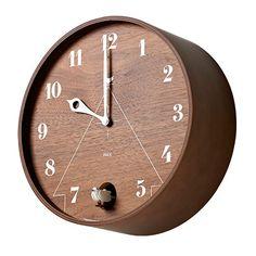Pace Cuckoo Clock - Walnut by Lemnos #MONOQI