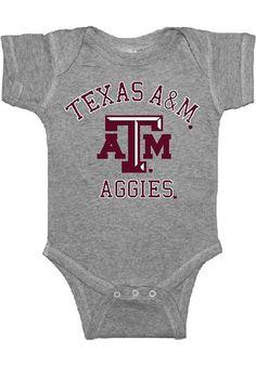 Texas A&M newborn onesie