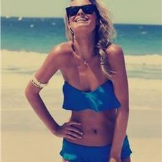 Visit us to watch Hot Sexy Girl with Perfect Body on the Bikini Carwash Suzuki video ! Two Piece Bikini, One Piece Swimwear, Bikini Swimwear, Swimsuits, Bikini Bleu, Blue Bikini, Sexy Bikini, Frill Bikini, Fitness Armband