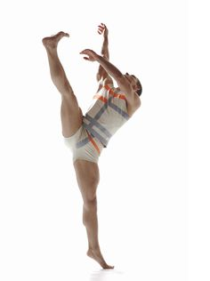 """Christian Denice in """"Three"""" choreographed by Robert Battle 2010 / River North Dance Chicago / photo: Erika Dufour"""