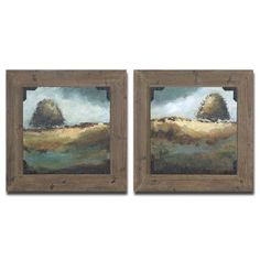 August Grove Trees of Love 2 Piece Framed Photographic Print Set