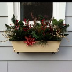 christmas window box - Window Box Christmas Decorations