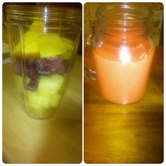 Pineapple mango and frozen raspberry smoothie for breakfast #cleaneating #eatclean #clean #healthylife #healthyeating #fitfam #instafit #fruit #pineapple #mango #raspberries #nutriblast #nutribullet #smoothies #weightloss #diet #nutrition #lowcarb #lowfat #lowcal #breakfast #motivation #dedication #inspiration #foodie #sw #swuk #slimmingworld by dina1_healthylife