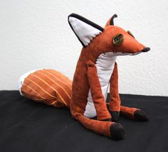 Signe Tveitan — A plush I made of the fox from the Little Prince ★...